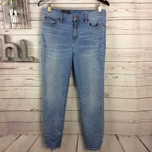 J.Crew look out high-rise crop light wash 31